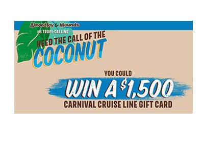 Almond Joy Cruise Sweepstakes