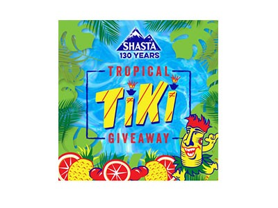 Shasta Tropical Tiki Giveaway