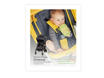 Win a Diono Flexa Stroller Giveaway