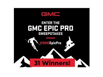 GMC Epic Pro Sweepstakes