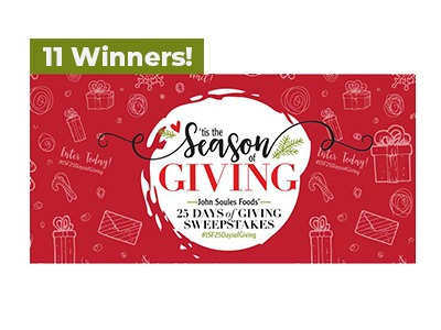 John Soules Tis the Season of Giving Sweepstakes