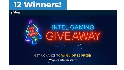 New Egg 12 Days of Intel Gaming Sweepstakes