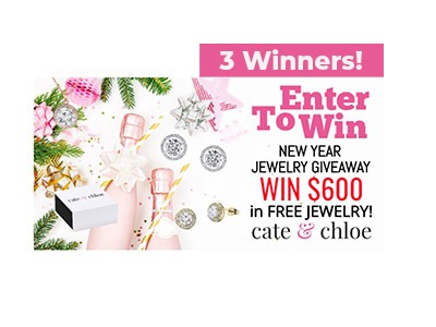 Cate & Chloe $600 New Year, New Bling Giveaway