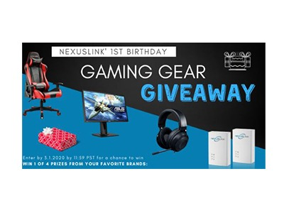 Gaming Gear Giveaway