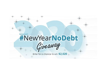 New Year No Debt Giveaway