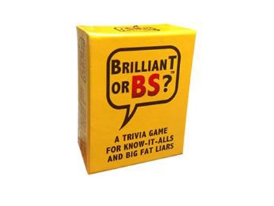 Brilliant Or BS Game Giveaway