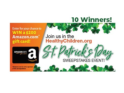 St. Patrick's Day Amazon Gift Card Sweepstakes