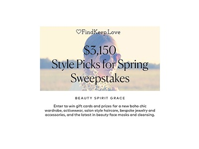 Style Picks for Spring Sweepstakes
