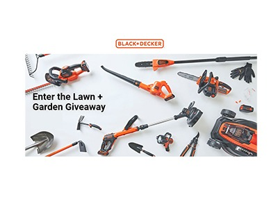 Black + Decker Lawn & Garden Sweepstakes