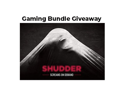 Shudder Gaming Bundle Giveaway