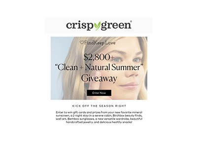 Clean Natural Summer Giveaway