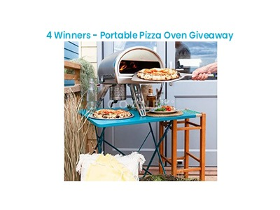 Bob Vila's Portable Pizza Oven Giveaway