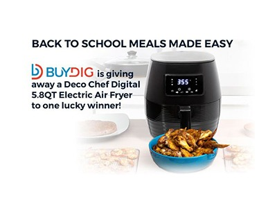 BUYDIG School Meals Made Easy Sweepstakes