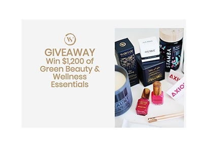 Henne Green Beauty Giveaway