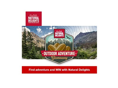 Natural Delights Outdoor Adventure Giveaway