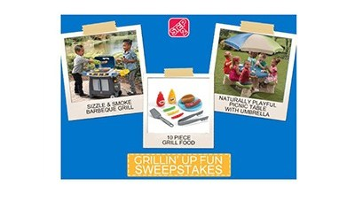 Step2 Grillin' It Up Fun Sweepstakes