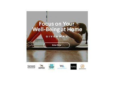 Focus on your Well-Being at Home Giveaway
