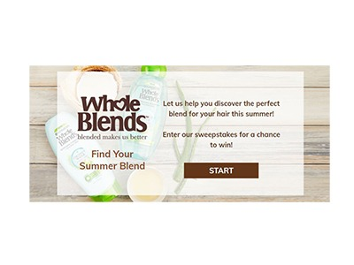 Garnier Find Your Summer Blend Sweepstakes