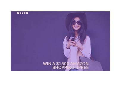 Nylon Amazon Shopping Spree Sweepstakes