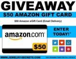 $50 Amazon gift card contest