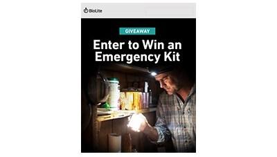 Biolite Emergency Kit Giveaway