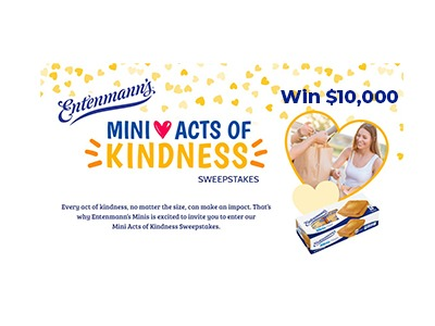 Entenmann's Mini Acts of Kindness Sweepstakes