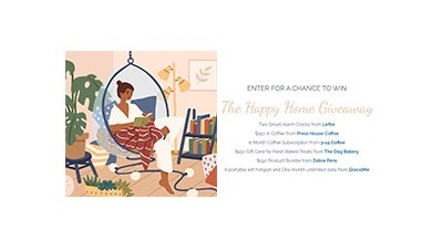 The Happy Home Giveaway