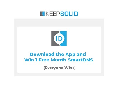 Download And Win 1 Month KeepSolid SmartDNS Giveaway