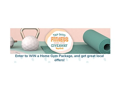 Tap Into Fitness Home Gym Giveaway