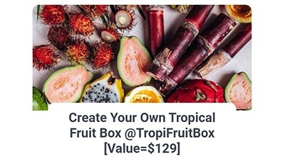 Tropical Fruit Box Giveaway