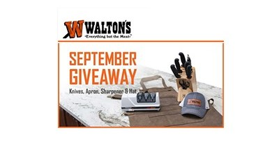 Walton's September 2020 Giveaway