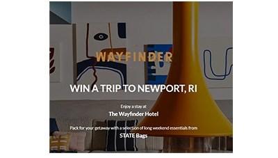 Wayfinder Weekend Getaway Sweepstakes