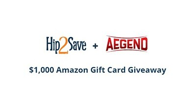 Hip2Save $1,000 Amazon Gift Card Giveaway