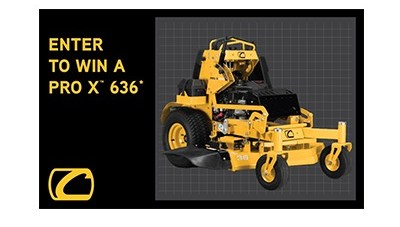 Win a Cub Cadet PRO X Series 636 Mower