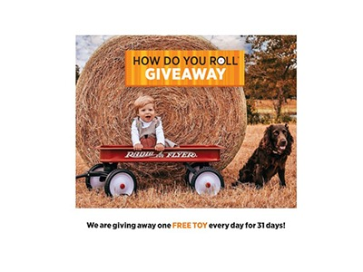 Radio Flyer How Do You Roll Giveaway