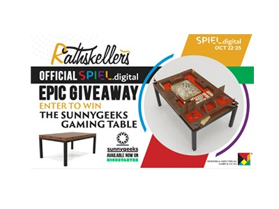 Rathskellers Gaming Table Giveaway