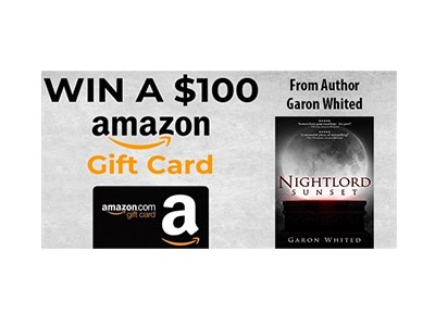 Author Garon Whited Amazon Gift Card Giveaway