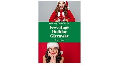 Celebrity Detox Tea Co Huge Holiday Giveaway