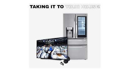 LG Taking it To the House Sweepstakes