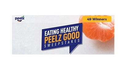 Eating Healthy Peelz Good Sweepstakes