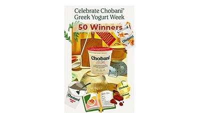 Win a Chobani Greek Yogurt Week Cookbook
