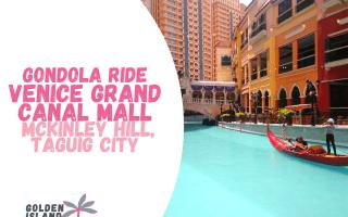 gondola ride venice grand canal mall taguig