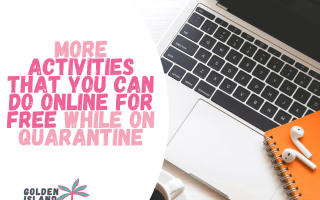 activities that you can do online for free