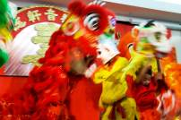 jing wo lion dance calgary 2014 chinese new year