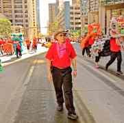 jing wo lion dance calgary 2014 chinese stampede parade