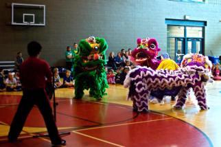 jing wo lion dance calgary 2014 chinese cardel