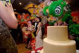 jing wo lion dance calgary 2014 chinese wedding