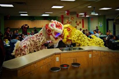 jing wo lion dance calgary 2015 chinese new year wing kei seniors
