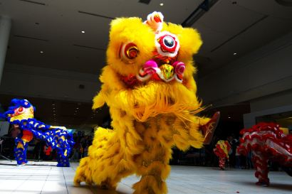 jing wo lion dance calgary 2015 chinook centre asian heritage month
