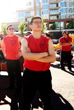 jing wo lion dance calgary 2015 chinese stampede parade